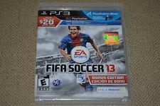 FIFA Soccer 13 - Bonus Edition (PlayStation 3, 2012) Brand New Fast Ship PS3