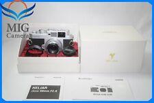 【Top MINT】Voigtlander Bessa R2M Silver 250 Jahre Anniversary w/ HELIAR 50mm f/2