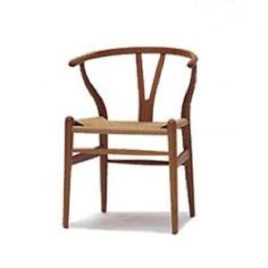 Sessel Stuhl Replik CH24 Y-Chair Wishbone Hans Wegner Designer Vetrostyle