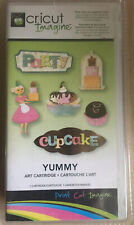Cricut Imagine Art  Cartridge   Yummy   USA Cupcake Provo Craft Neu