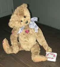 Ganz Cottage Collectibles Mattie Cc147 Teddy Bear Lorraine Jointed Tags