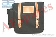 CUSTOMIZED BLACK SIDE SADDLE BAG WITH FITTING UNIVERSAL FIT MOTORCYCLE @CAD