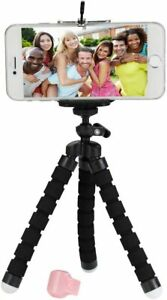 Clik Ring Bluetooth Enabled Hands Free Selfies & Video (Cloud White) with Tripod