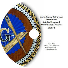 Freemason Mason Freemasonry Masonic Secret Socieities Knights Templar Books DVD