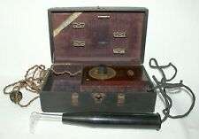 New listing Vintage 00006000  Antique Medical Shock Quackery Shelton Electric Co. Violet Ray 110 Volt