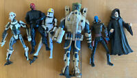 Assorted Clone Wars Action Figure Lot