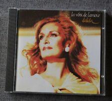 Dalida, la voix de l'amour , CD