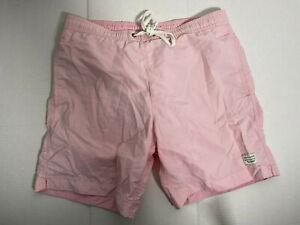 Modern Amusement Mens Swim Shorts Trunks Pink Small