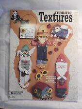 Terrific Textures - Betsy Edwards - folk art tole painting patterns 2431