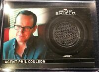 Agents of SHIELD 2 Costume Card #87/350 Relic  Director Coulson B17
