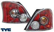 07-08 TOYOTA YARIS 3D FACTORY RED TAIL LIGHTS TYC PAIR