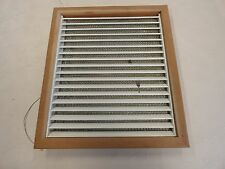 BLUEWATER YACHTS MAPLE WOOD AC AIR CONDITIONER VENT COVER MARINE BOAT