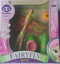 """Wow Wee Toys FlyTech Fairy Fly Sprite Bourgeon 12"""" Wing Span 4062 Remote Control"""