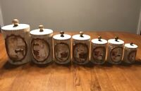 14 Piece Sears Roebuck Mother In The Kitchen Canister Set