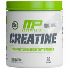MusclePharm Essentials Pure Creatine Monohydrate, 300 Grams, Unflavored, 60 Svgs