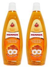 2x MENNEN Shampoo Suave Nectar De Miel Y Manzanilla HONEY & CHAMOMILE 800mL Each