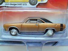 JOHNNY LIGHTNING - MOPAR OR NO CAR - 1969 DODGE DART GTS (GOLD) - 1/64 DIECAST