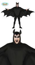 Costume Pipistrello Uomo Taglia Unica Halloween Carnevale Nuovo DRacula Drac ae8df582b099