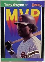 1989 Donruss Baseball MVP Tony Gwynn #BC-20 San Diego Padres