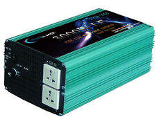 12000W Peak 3000W Low Frequency Pure Sine Wave Power Inverter 24V DC/110VAC 60Hz