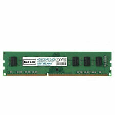 EcTech 4GB PC3-12800U DDR3 1600MHz Desktop CL11 Memory RAM 240Pin