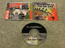 BRAIN PUKER / NUT FOR SALE - Ant Hill Kids CD 10 track Punx Without Mohawx RARE
