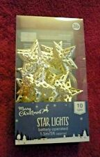 BNIB Silver Star String Lights 1.5m