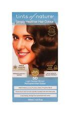 Tints of Nature Organic 5d Light Golden Brown Permanent Hair Colour 130ml