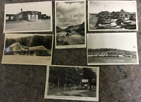Lot Of Vintage Real Photo Postcards RPPC-Most Pa-Pearl Harbor Inn-Fry Bro Ranch