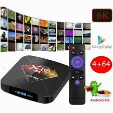 Android 9.0 PIE Smart TV Box Media TV Player USB HDMI WiFi HDR 6K X10 Plus 64GB