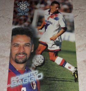 CARD PANINI CALLING 1997/98 BOLOGNA BAGGIO CALCIO 1998