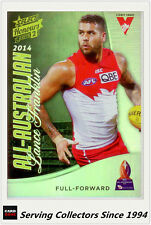 2015 Select AFL Honours S2 All Australia Team Card AA14 Lance Franklin (Sydney)