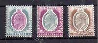 Malta KEVII 1903 2d, 3d & 4d all MNH SG40, 42, 43 WS15844
