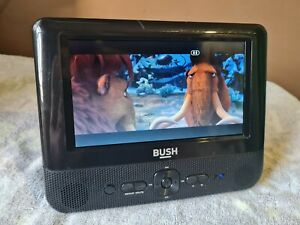 """Bush Portable in car DVD player with screen 7"""""""