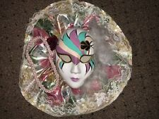 Lady Face Mask Wall Hanging Decor- Pretty