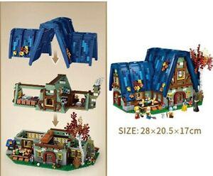 Legos Disney Fairy Tale Scene Elf House Princess BUILDING BLOCKS Educational Toy