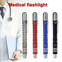 Color Pen Light Portable Medical Doctor Nurse Torch Mini LED Small Flashlight PK