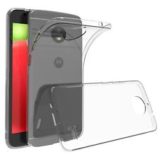 Soft Gel Clear Transparent Case Cover For Motorola Moto C | E4
