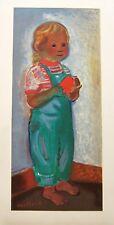 LITHOGRAPHIE MOURLOT L'Enfant signé CAILLARD 1956 45x32,5cm