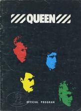 Queen 1982 U.S. Hot Space Tour Concert Program Tour Book Freddie Mercury
