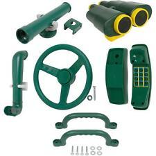 SWING SET STUFF DELUXE ACCESSORIES KIT GREEN outdoor handles playground kid 0245