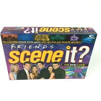Friends Scene It Board Game DVD Trivia Family Fun Boxed by Mattel 2005