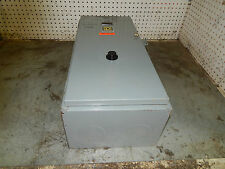 Square D Class 8536 Type SFG1 size 4 starter in an enclosure 8536-SFG1 8536SFG1
