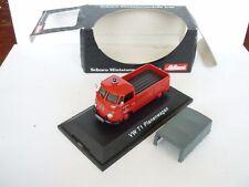 Schuco 1:43 VW T1 Fire Car Pick up Planenwagen M box