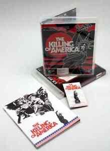 The Killing of America Blu-ray + book + pin Palace Explosive K&C mondo