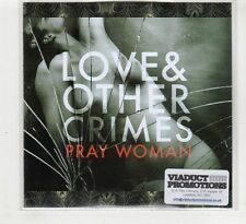(HD170) Love & Other Crimes, Pray Woman - 2015 DJ CD