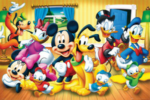 """Disney Group -  Mickey & Minnie Mouse More - 24"""" x 36"""" Poster Print - NEW!"""