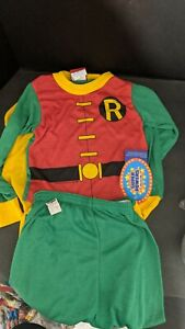 1984 super powers Collection Robin Dc Pajamas Clothes With Tags