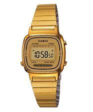 Casio Watch * LA670WGA-9 Retro Mini Gold Slim Steel Watch for Women
