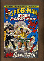1995 Amazing Spider-Man Cancer Society Promo NM- Rare 1 Smokescreen Luke Cage
